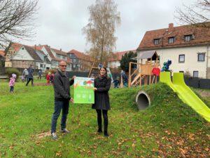"""Erneuerung """"Spielplatz Ummerstadt"""""""